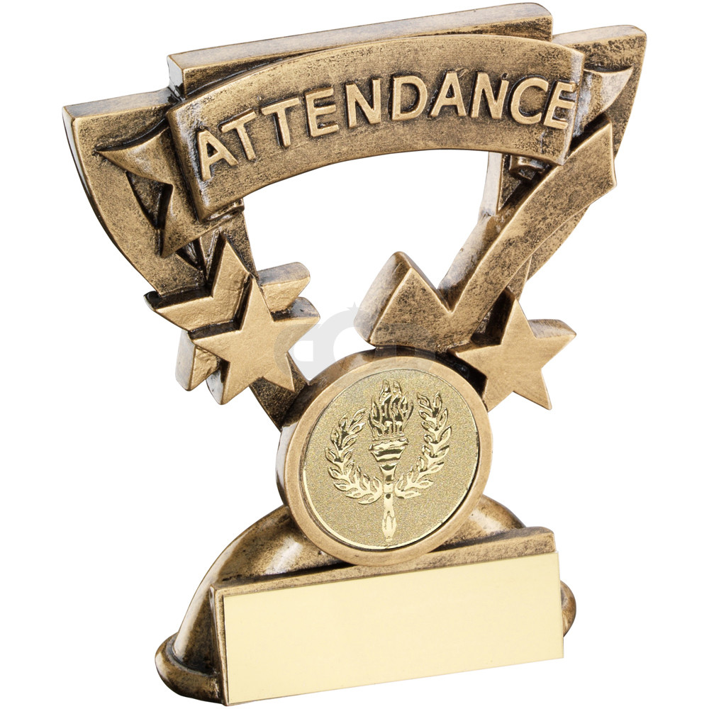 Attendance Mini Cup Trophy