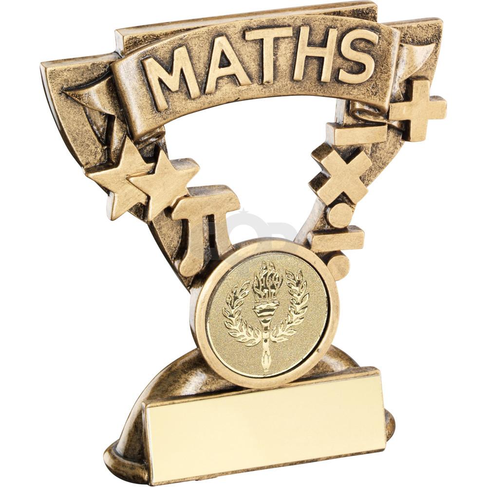 Maths Mini Cup Trophy