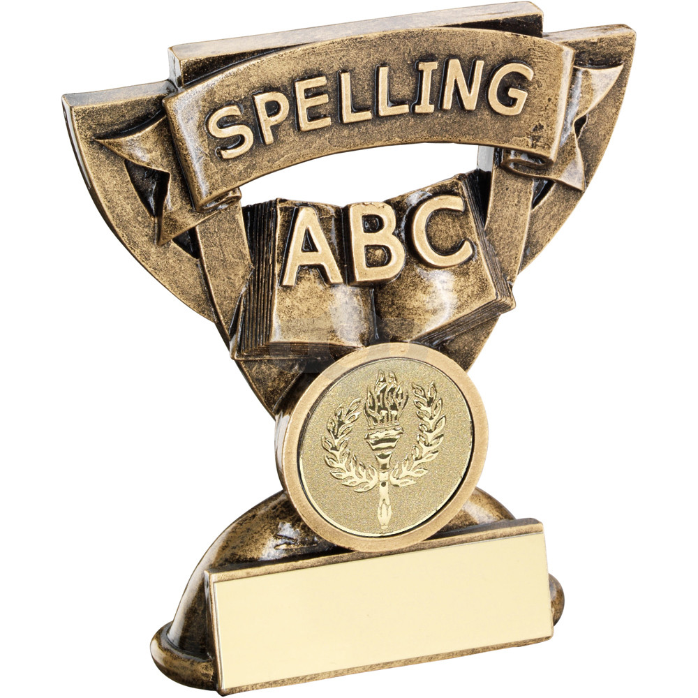 Spelling Mini Cup Trophy