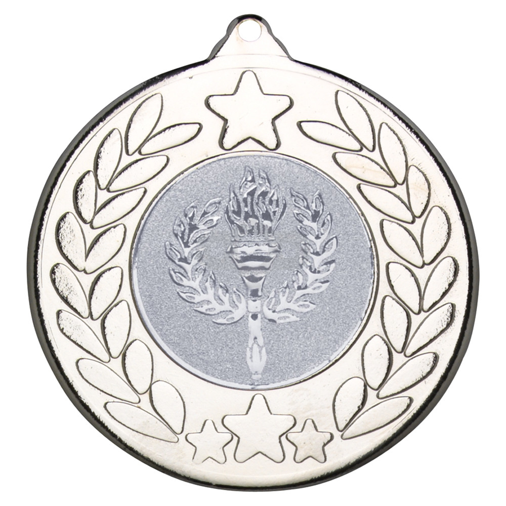 50mm Stars & Wreath Medal