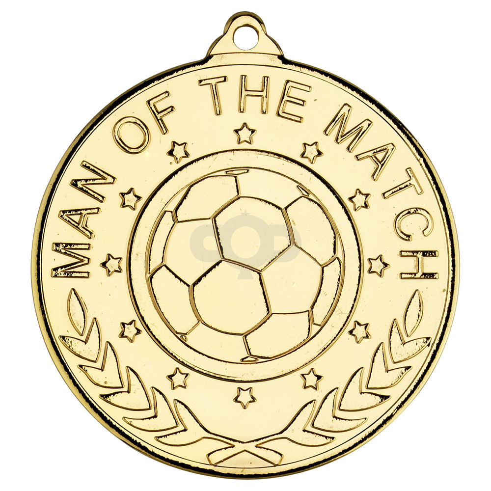 Football 'Man Of The Match' Medal