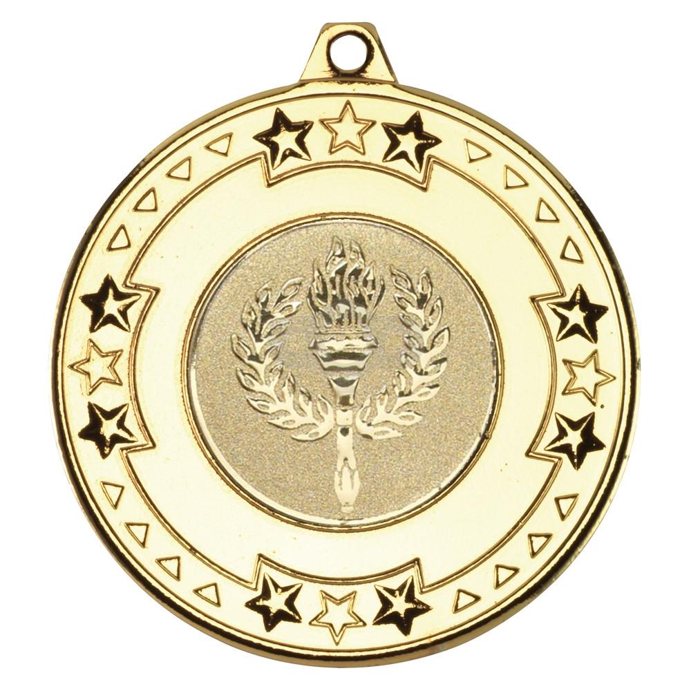 50mm Tri Star Medal