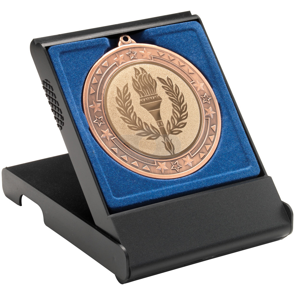 Black Medal Box