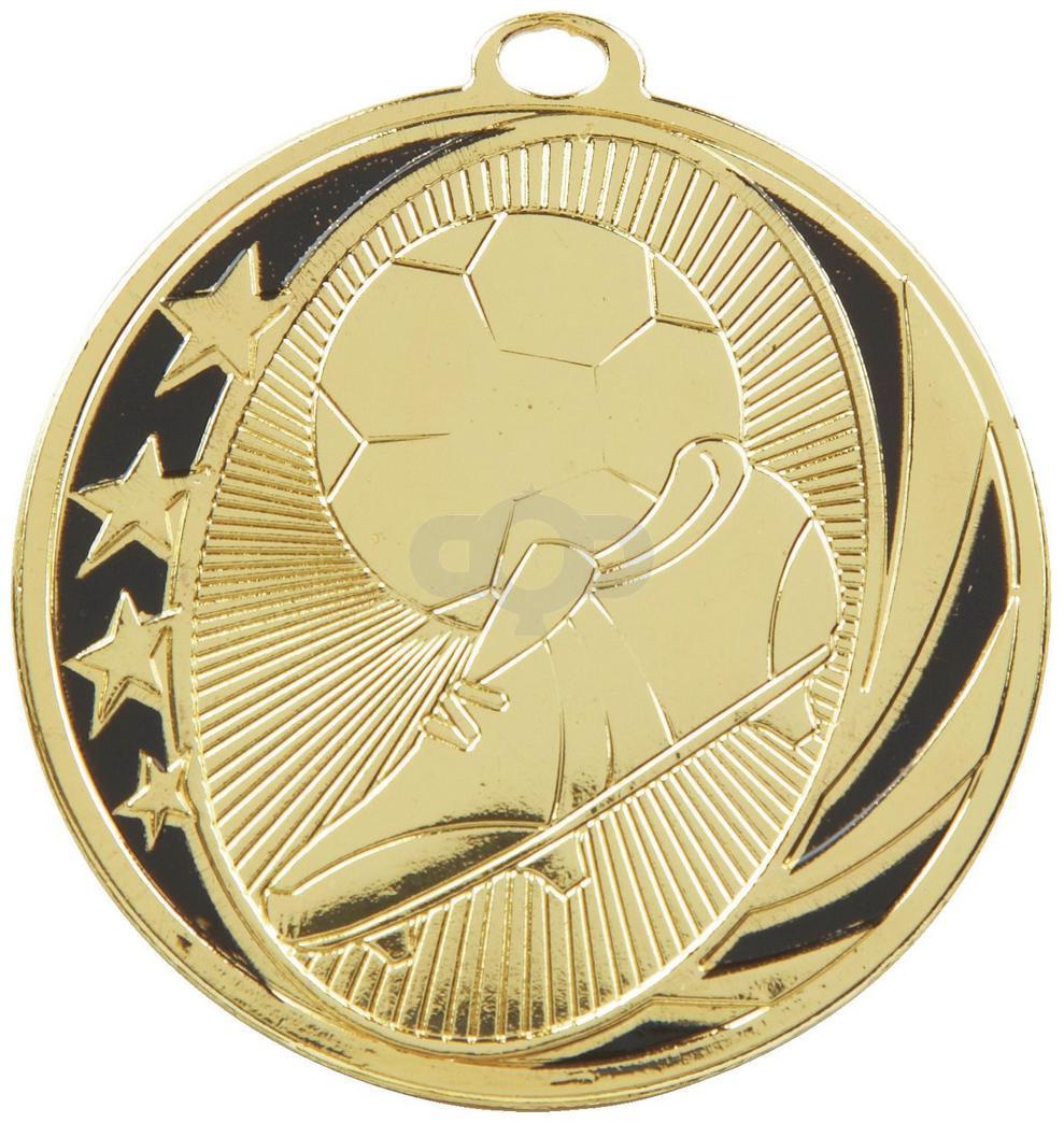 50mm Boot & Ball Football Medal