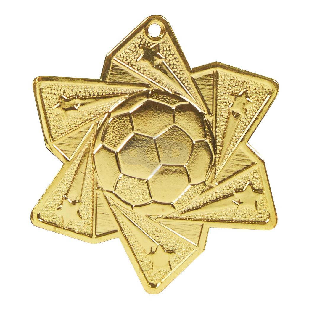 Football Star Medal (60mm)