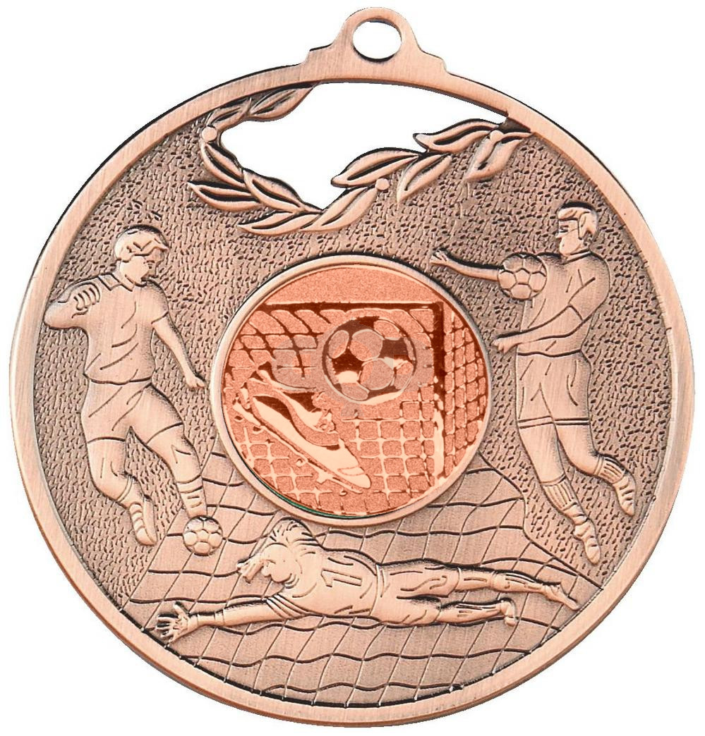 70mm Men's Football Medal