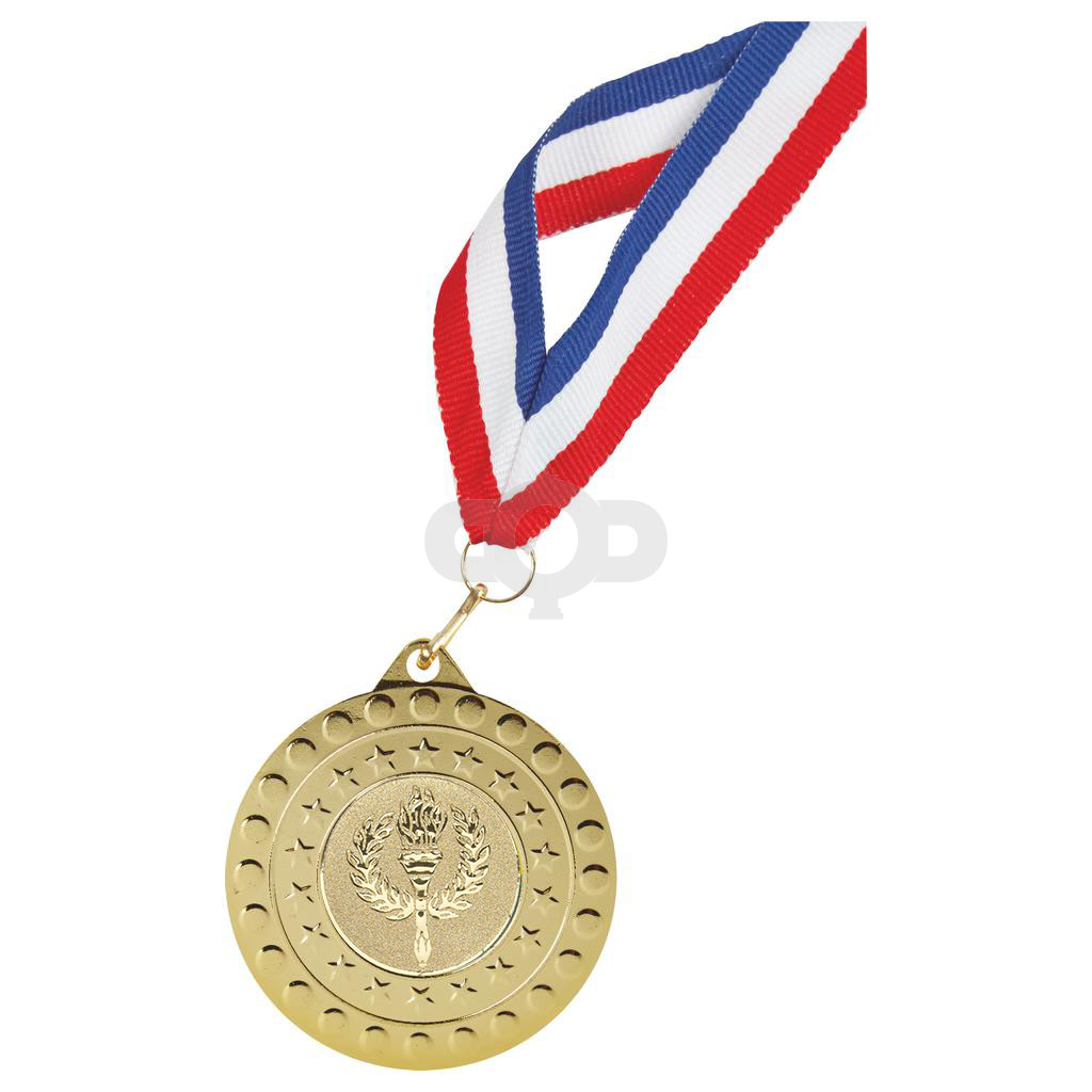 50mm Sports Medal with 22mm Ribbon
