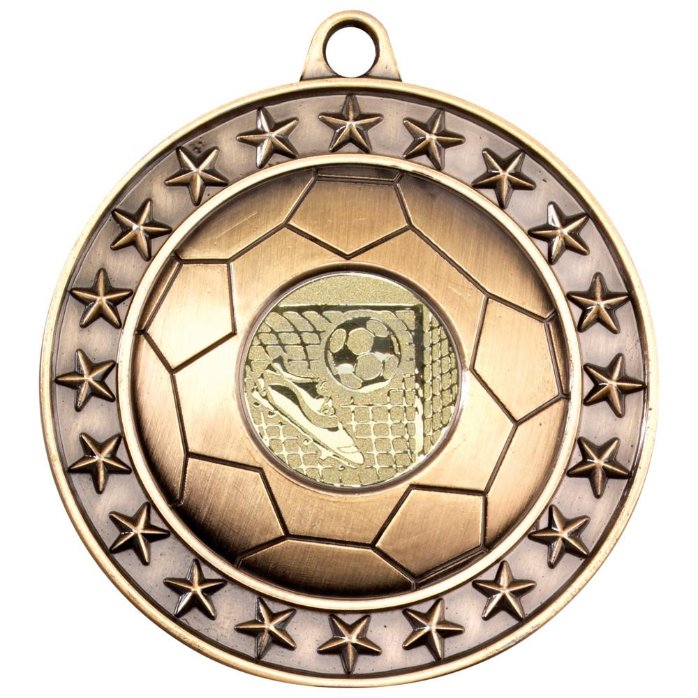 70mm Football Medal