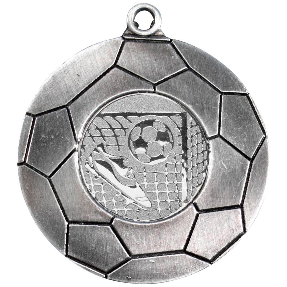70mm Domed Football Medal