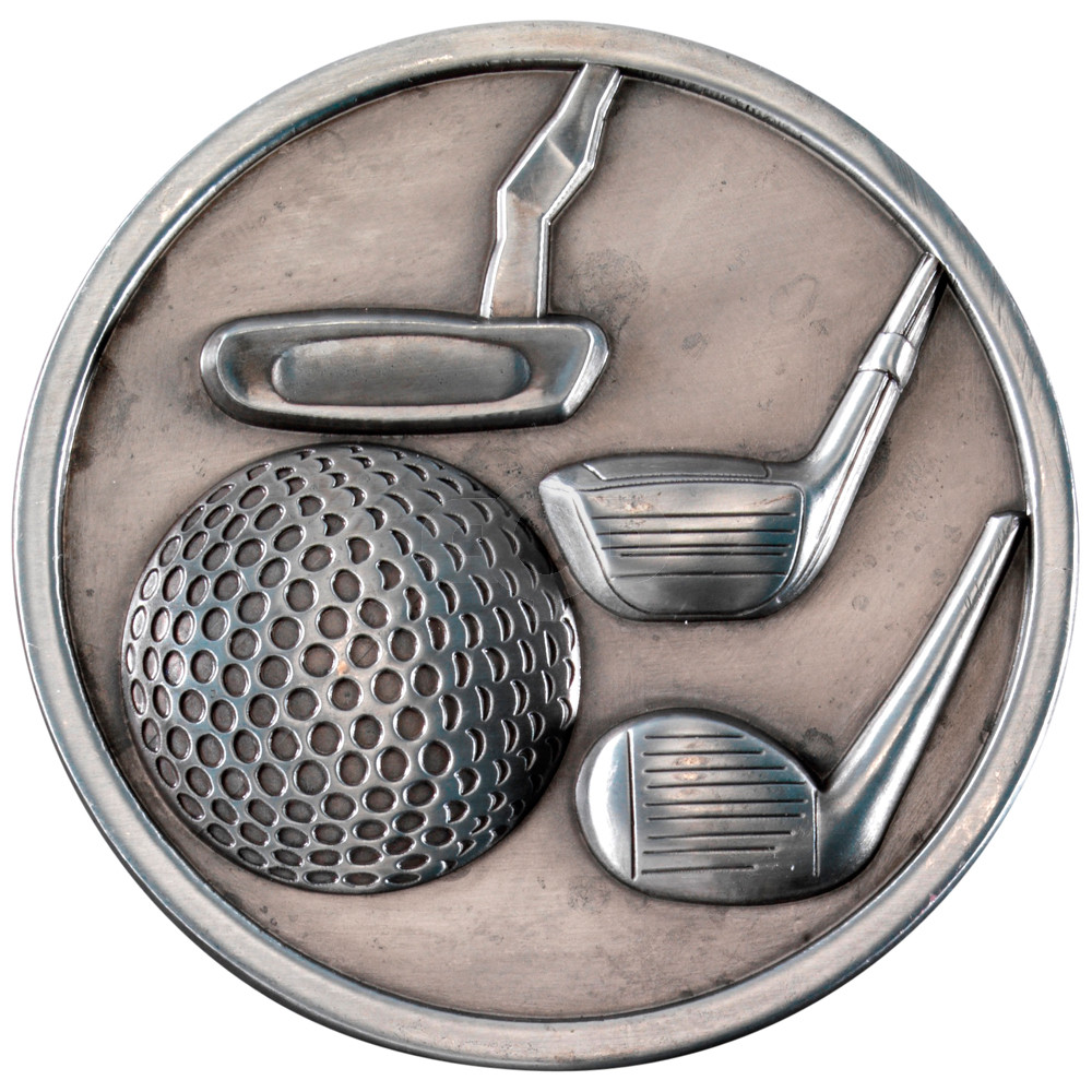 70mm Golf Clubs Medallion