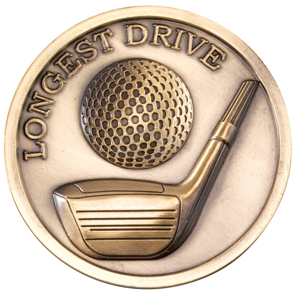 70mm Golf Medallion