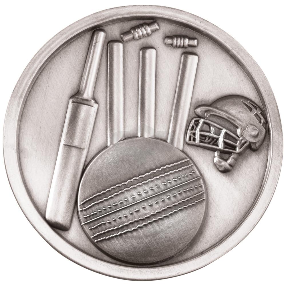 70mm Cricket Medallion