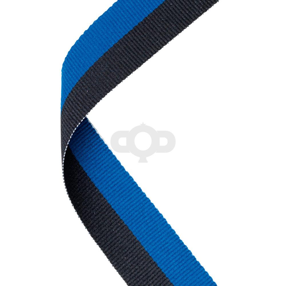 Blue & Black Ribbon