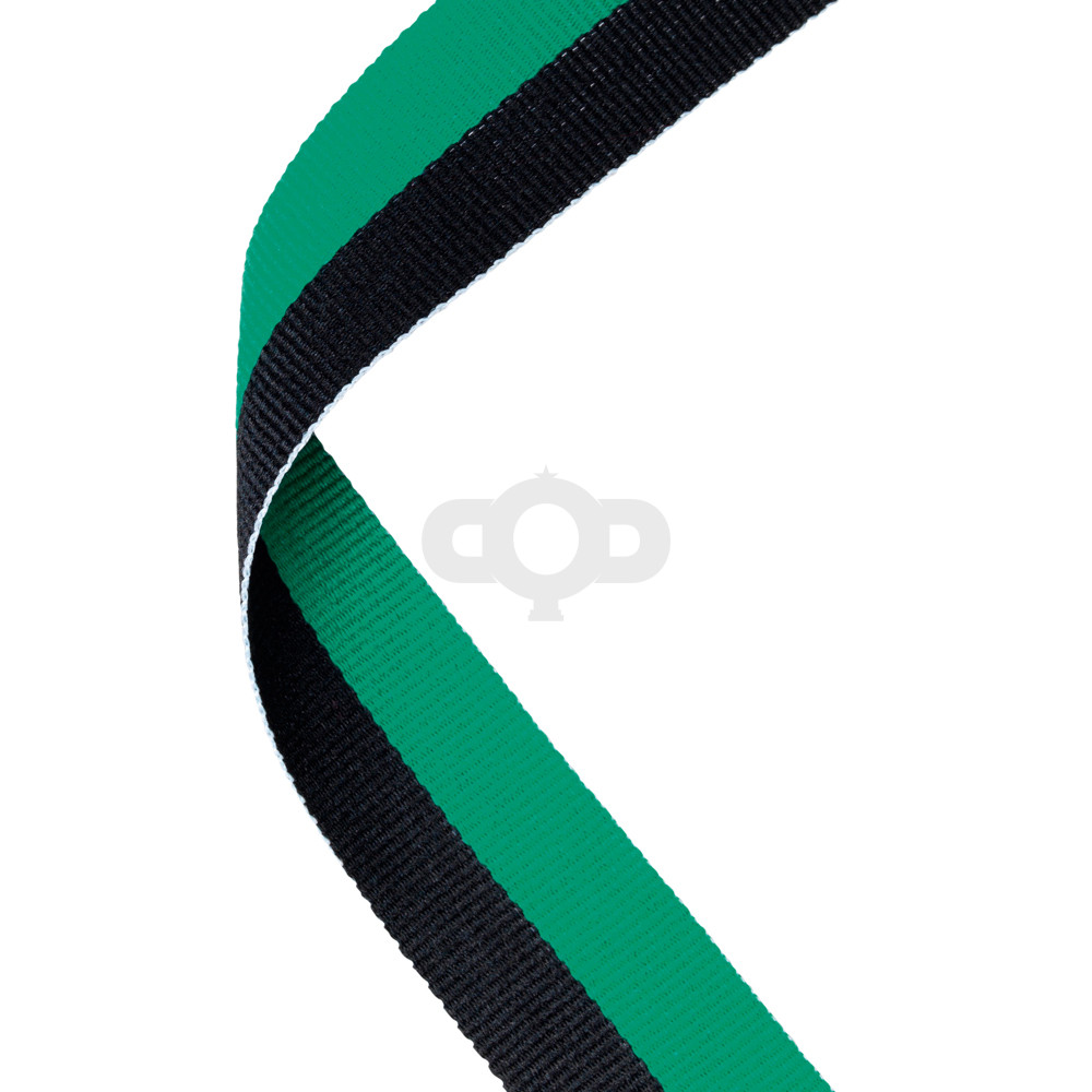 Green & Black Ribbon