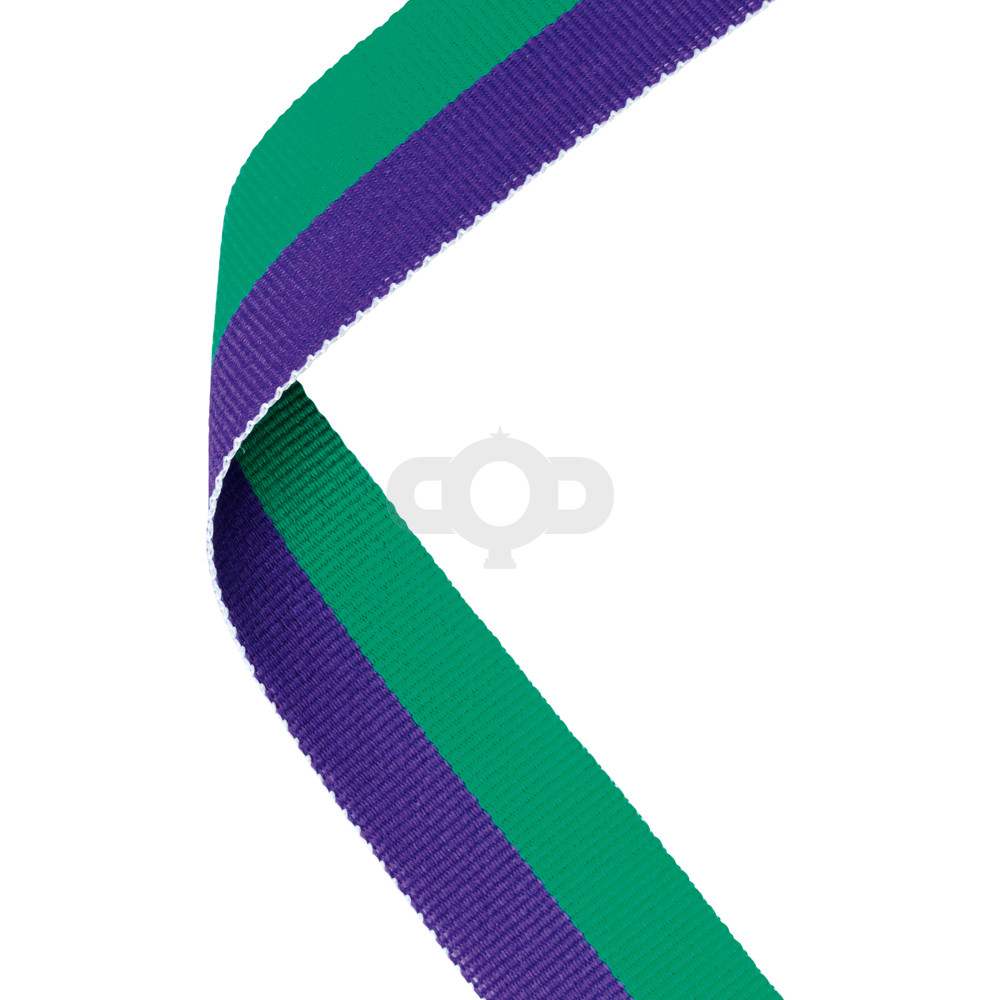 Purple & Green Ribbon