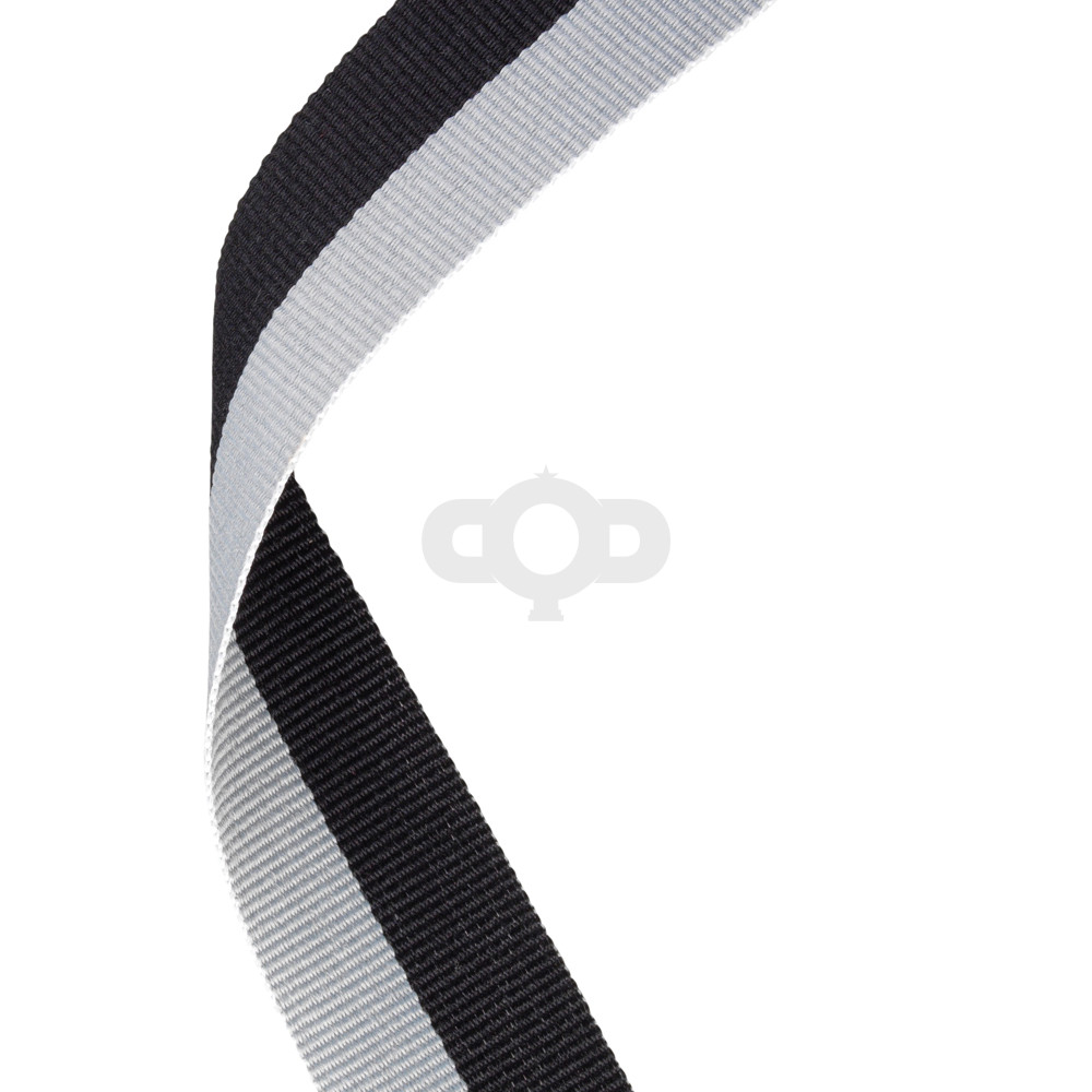 Black & Grey Ribbon