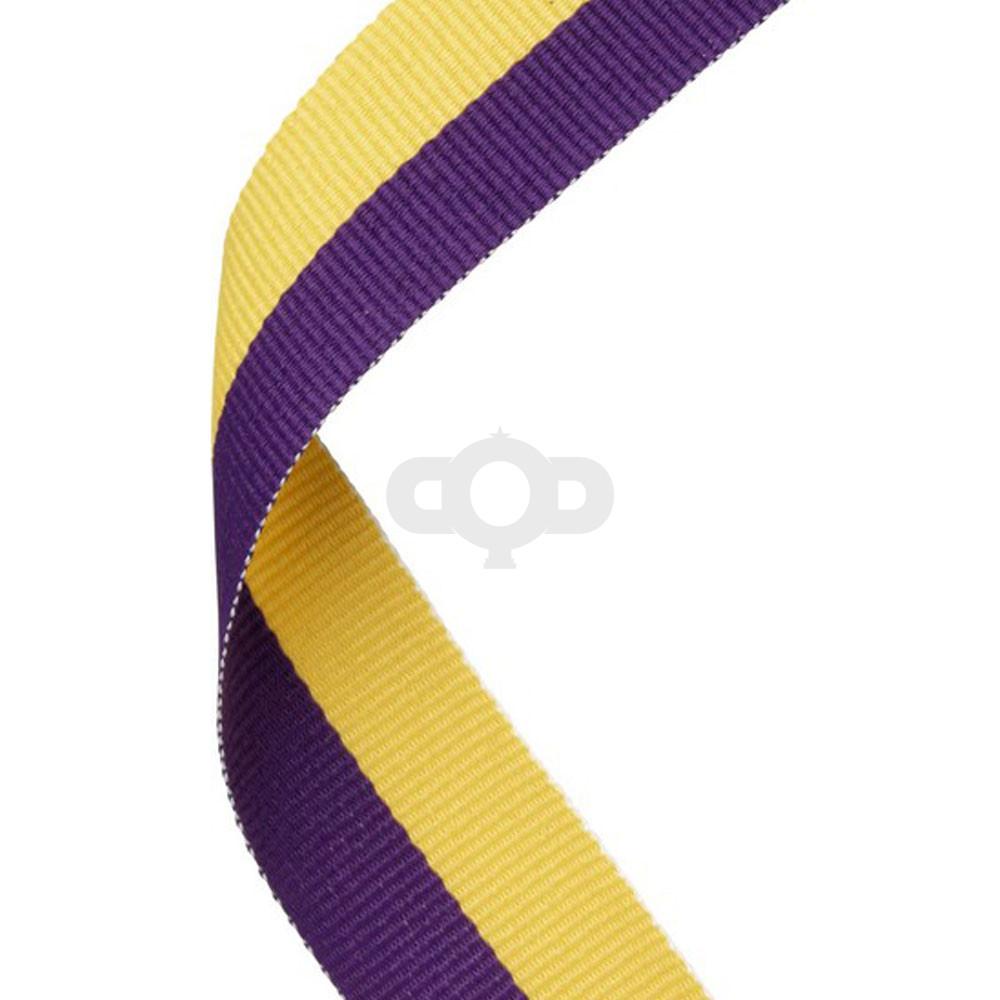 Purple & Yellow Ribbon
