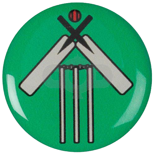 Cricket Bat and Wicket centre - Acrylic