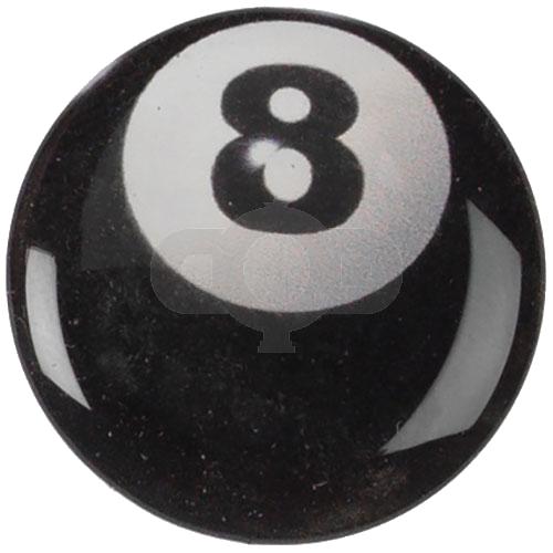 Black 8 Ball centre - Acrylic
