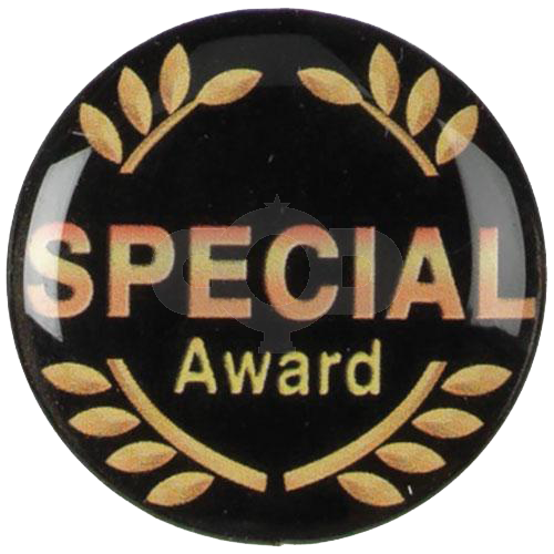 Special Award with wreath centre - Acrylic