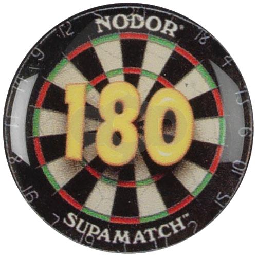 Dartboard with 180 - Acrylic