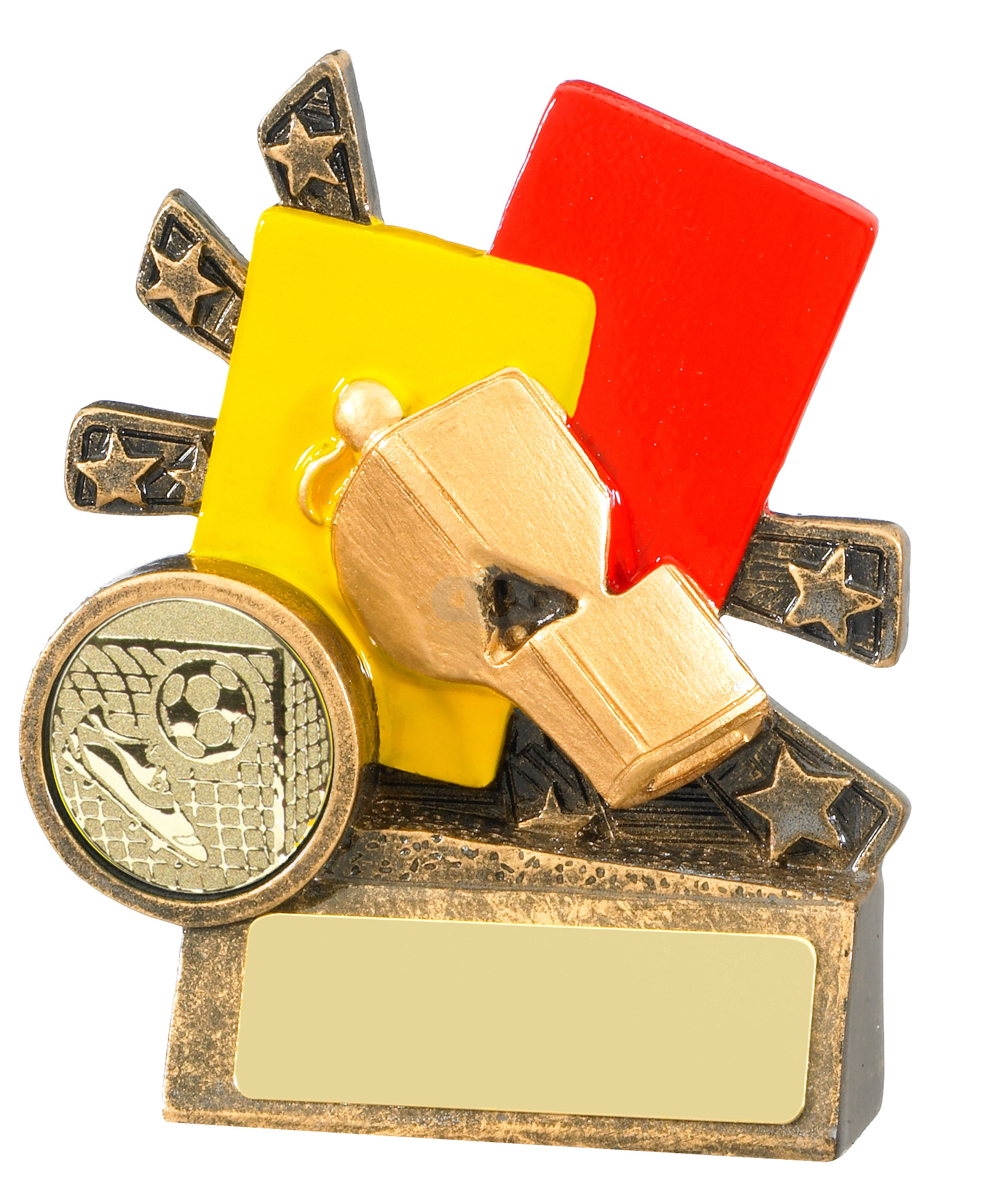 Xblast Football Referee Cards And Whistle Trophy