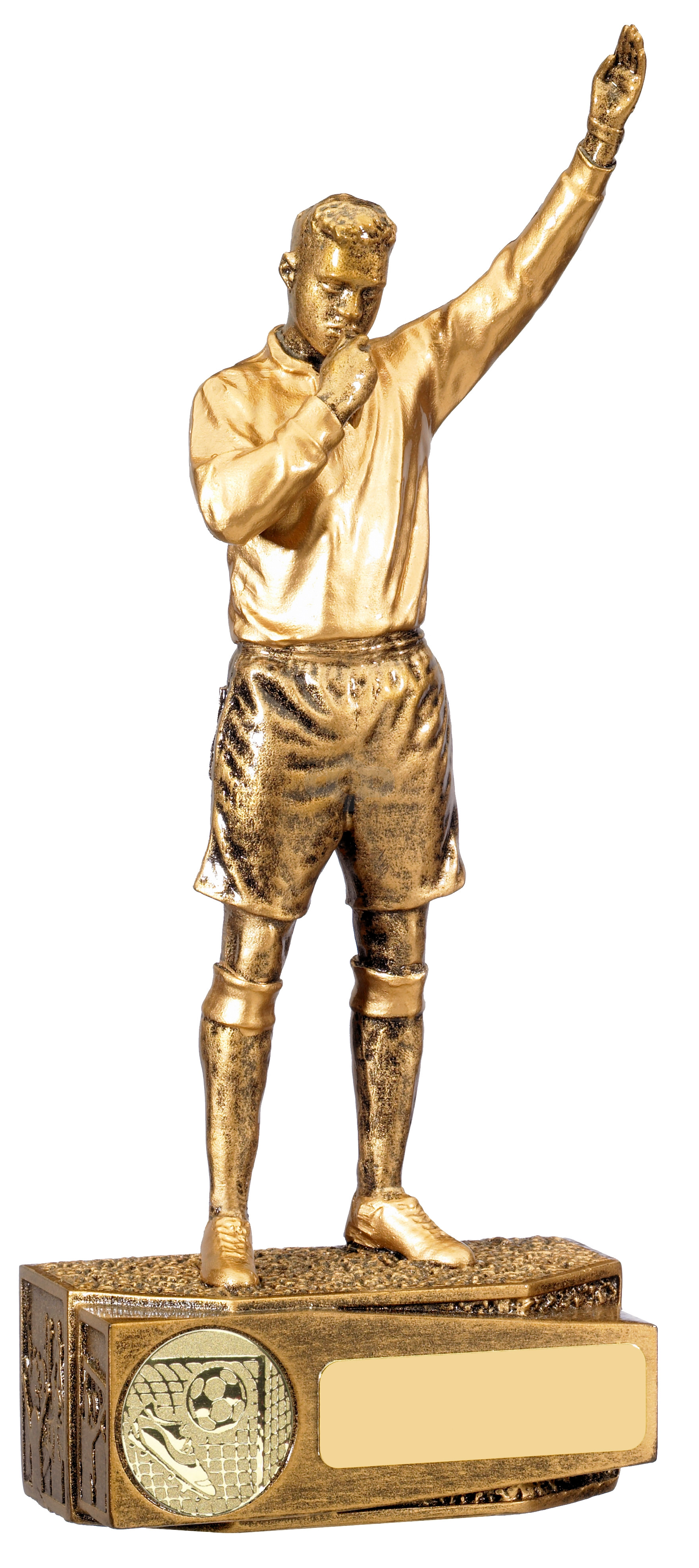 Football Male Referee Trophy