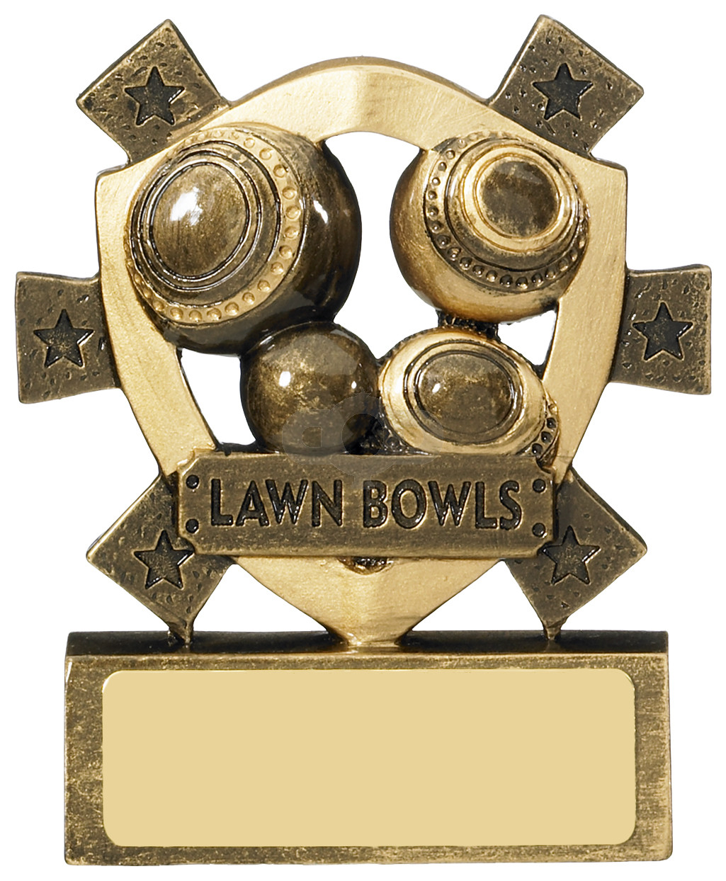 Lawn Bowls Mini Shield