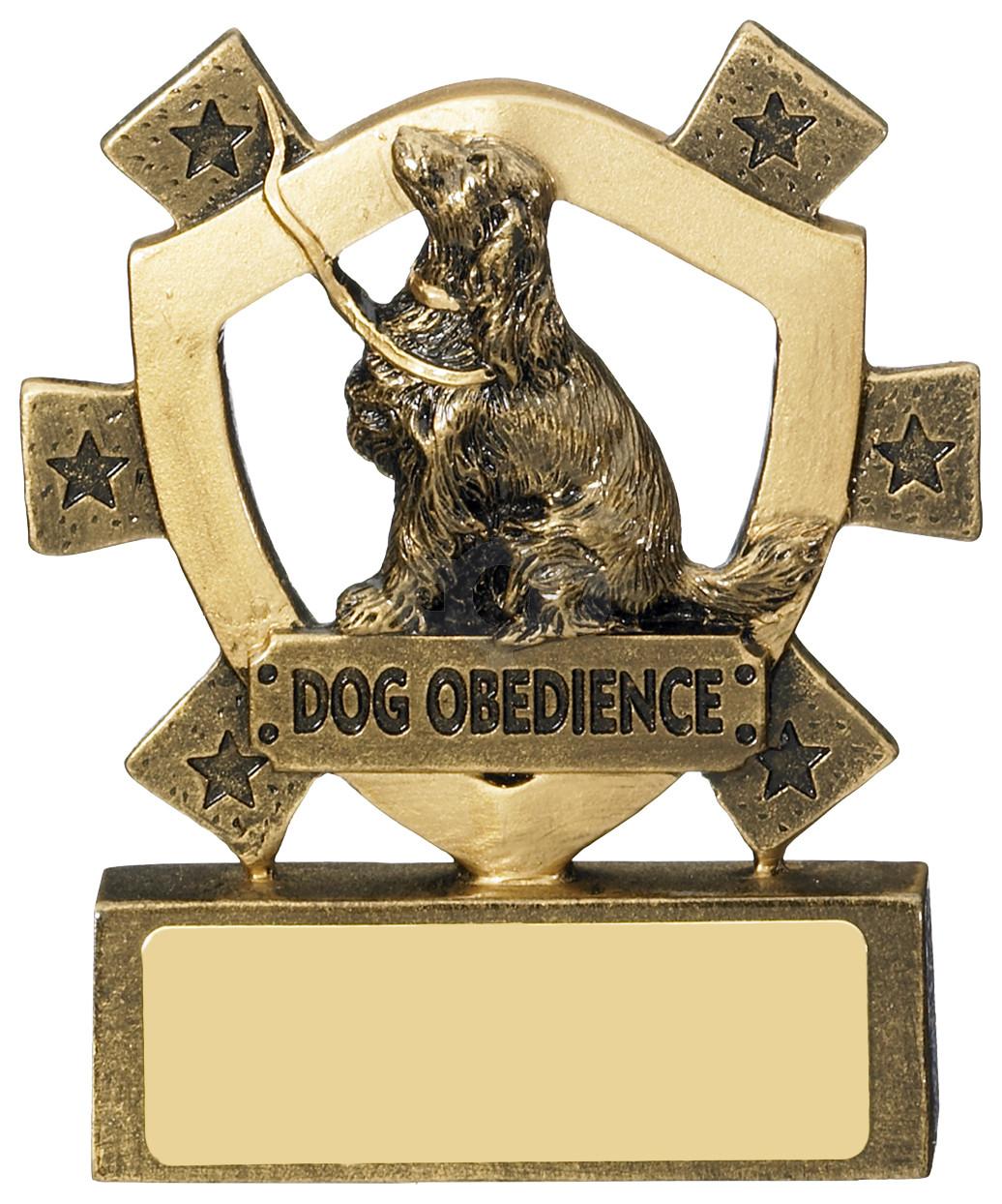 Dog Obedience Mini Shield