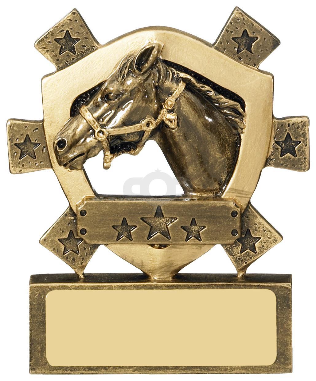 Equestrian Mini Shield