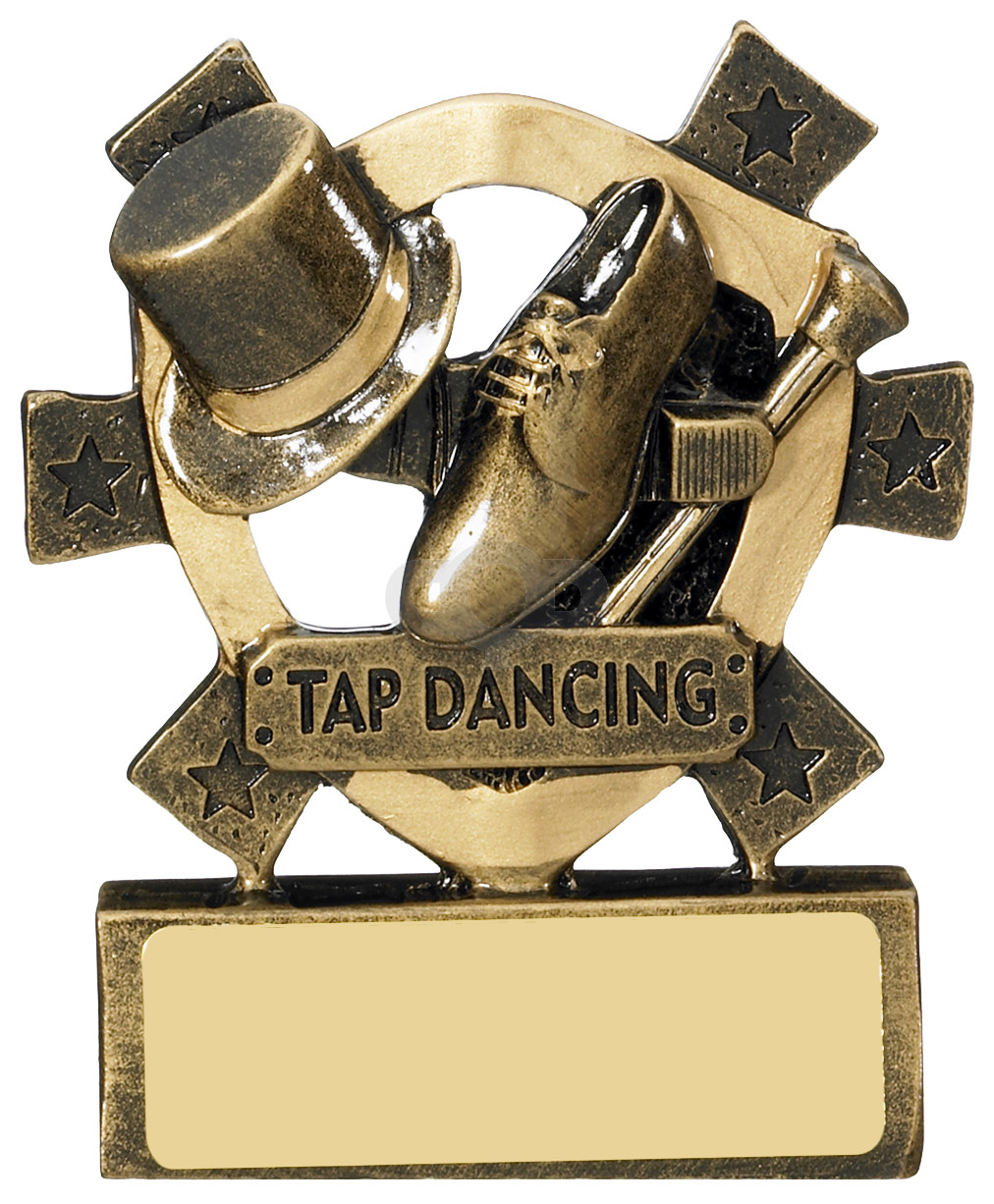 Tap Dancing Mini Shield
