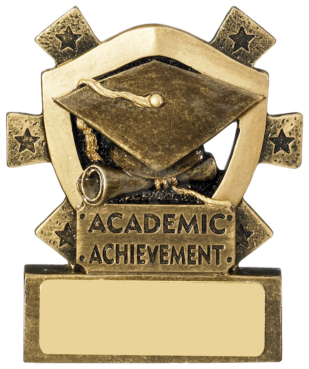 Academic Achievement Mini Shield Award