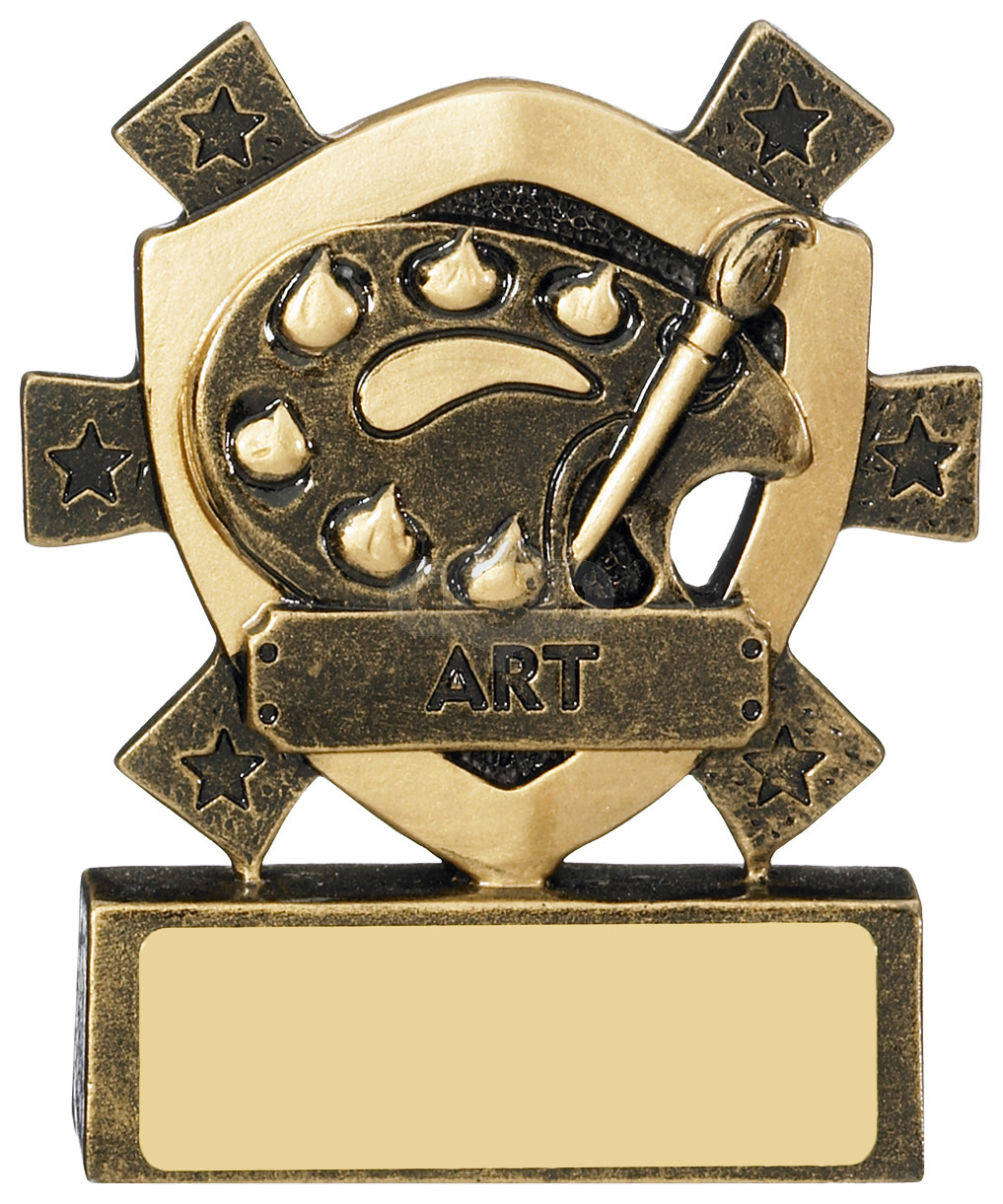 Art Mini Shield Award