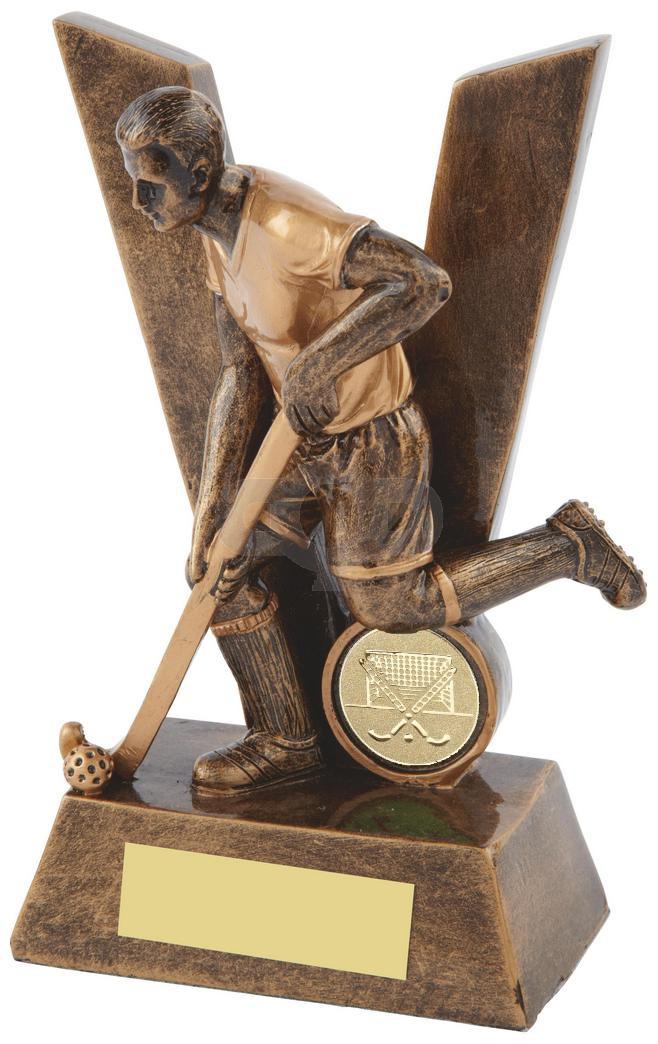 V' is for Victory Resin Men's Hockey Award
