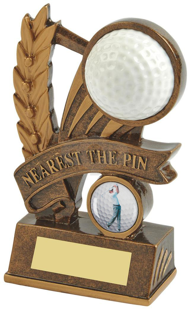 Resin Nearest the Pin Golf Award