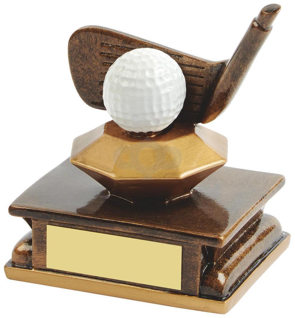 Resin Golf Club Award - Wedge