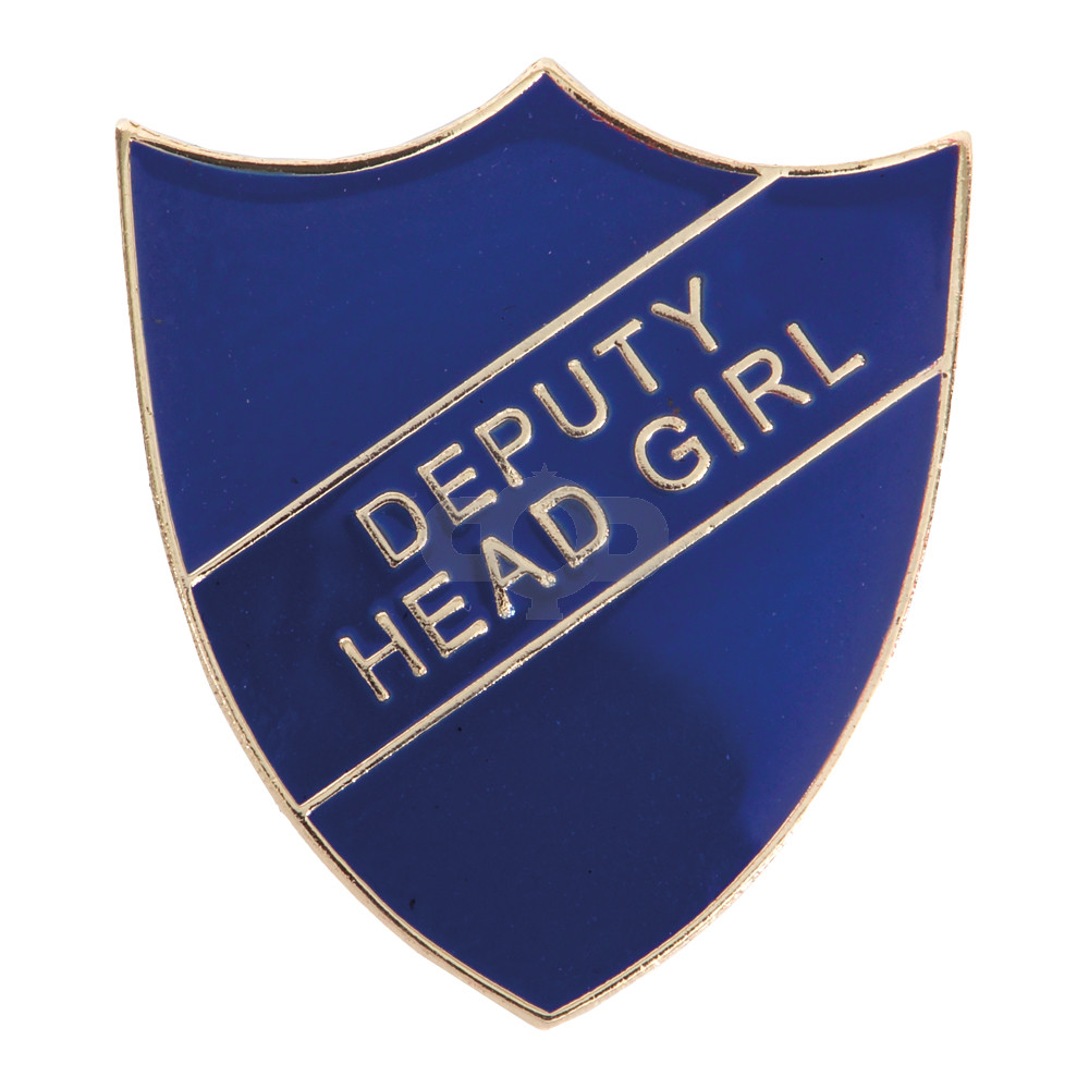 Deputy Head Girl Enamel Shield Badge