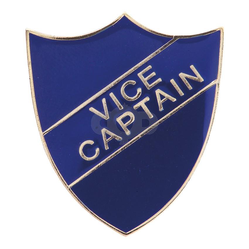 Vice Captain Enamel Shield Badge