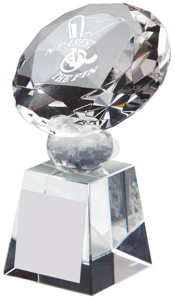 Crystal Diamond Golf Award for Nearest the Pin