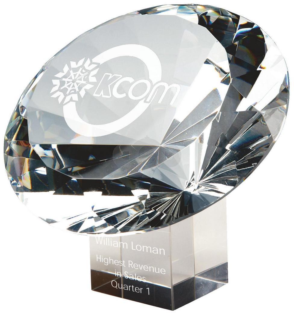 Large Crystal Diamond Award