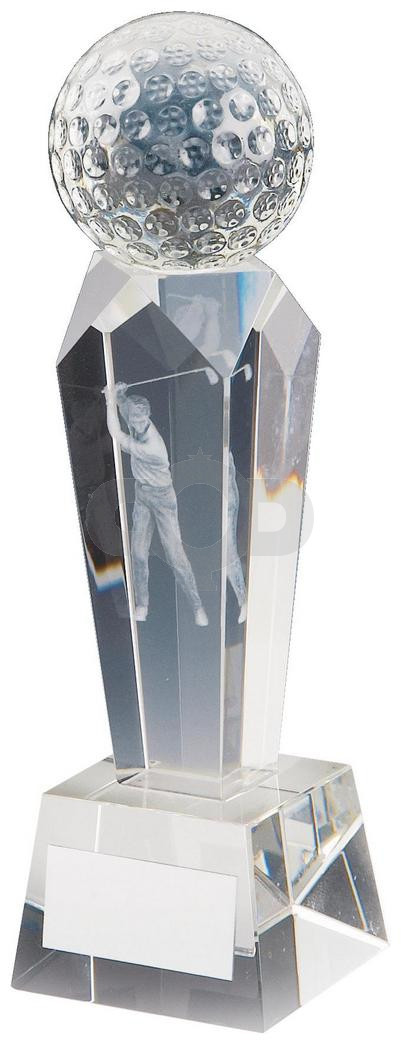 Crystal Column Award for Men's Golf