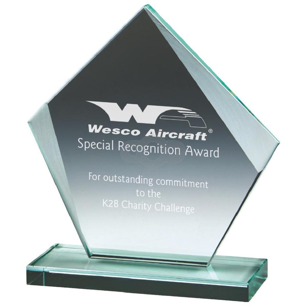 Jade Glass Pentagon Award