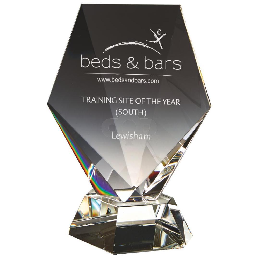 Crystal Award in Presentation Box