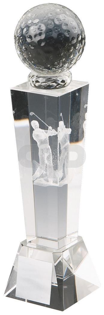 Crystal Tower Men's Golf Award