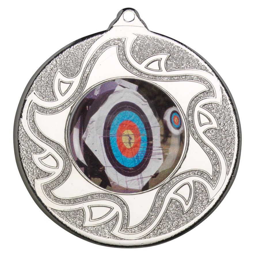 50mm Archery Silver Medal
