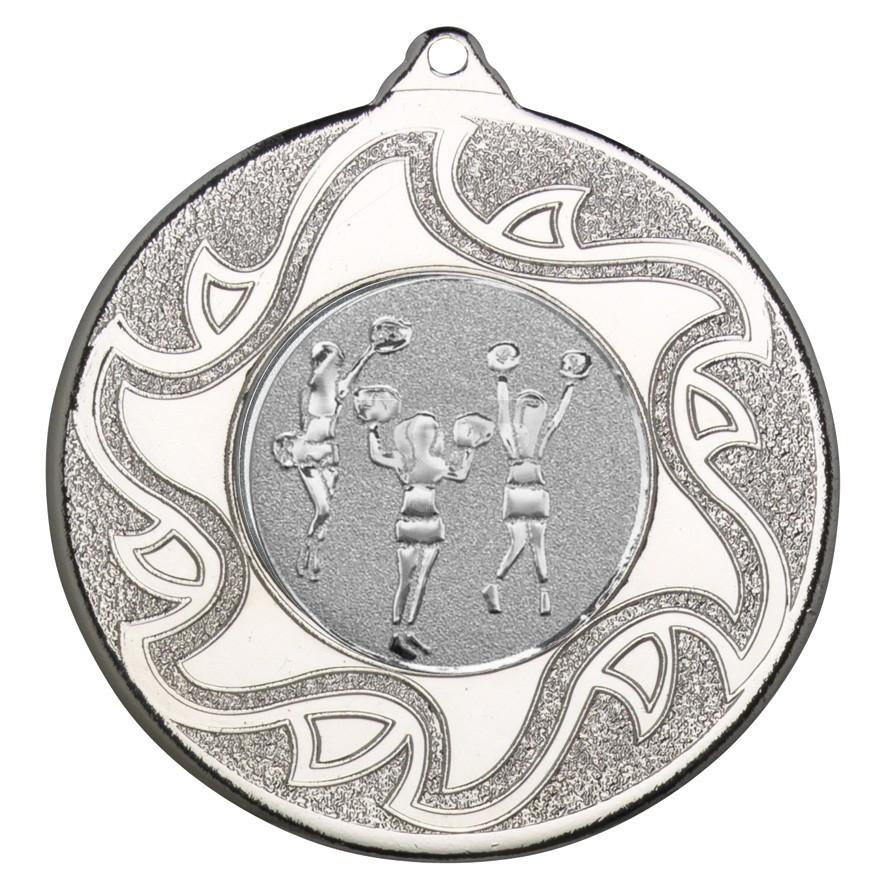 50mm Cheerleaders Silver Medal