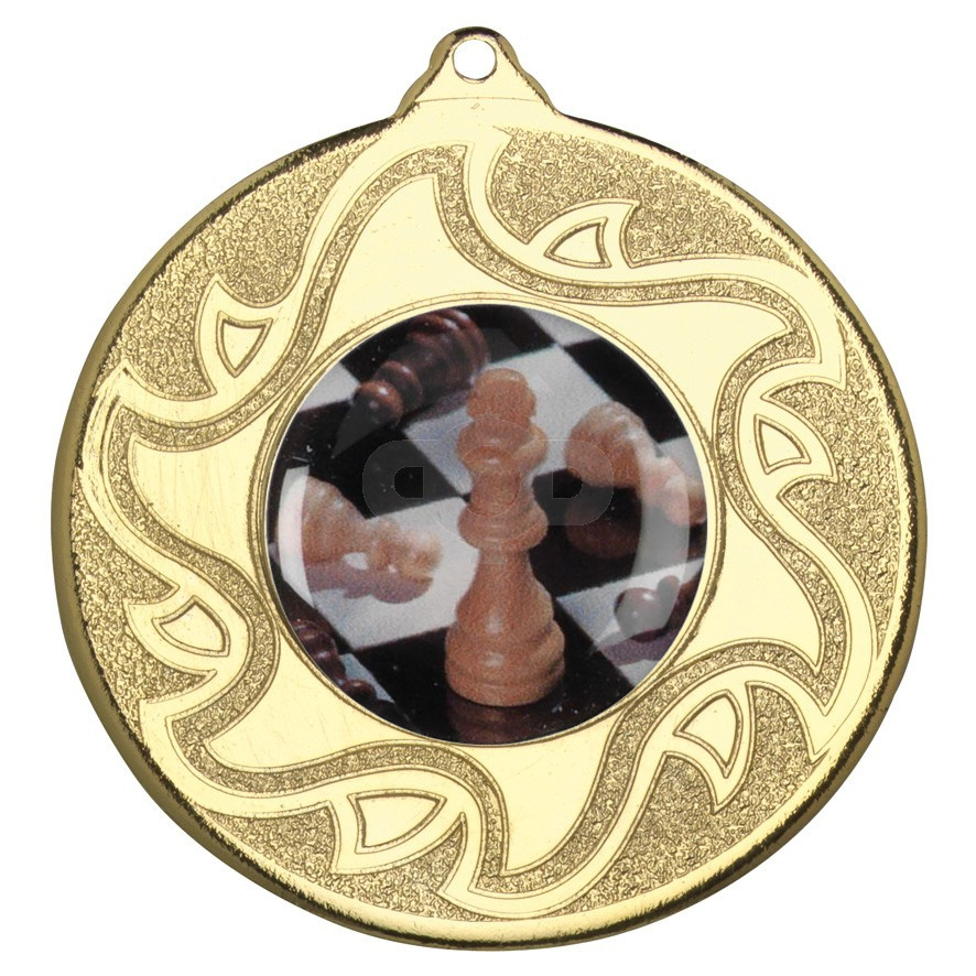 50mm Chess Medal