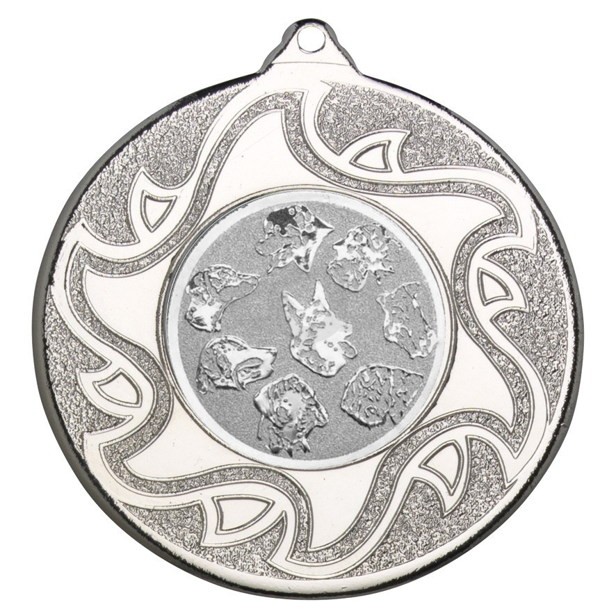 50mm Canine Silver Medal