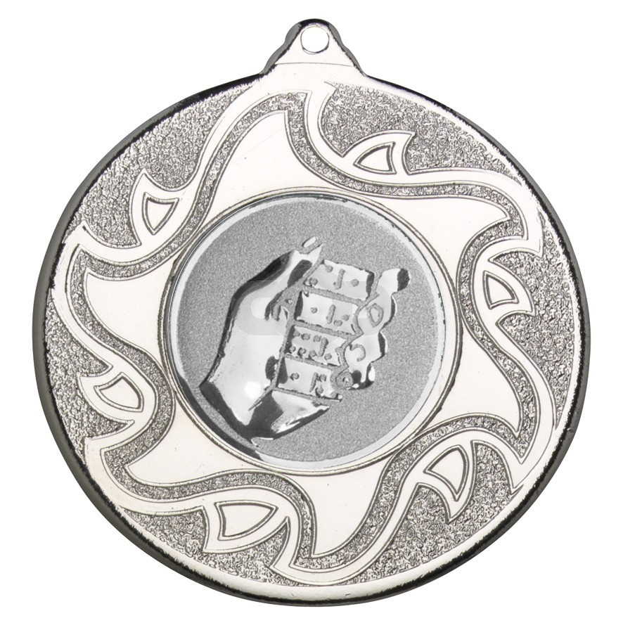 50mm Dominoes Silver Medal