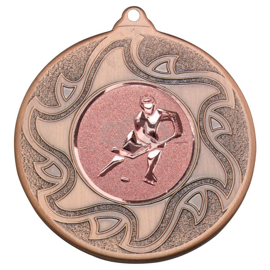 50mm Ice Hockey Bronze Medal